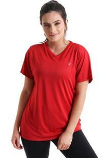 Camiseta Sting - Feminina - Feminino-Vermelho