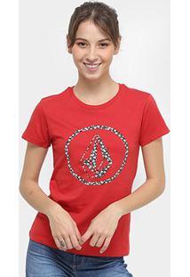 Camiseta Volcom Silk Daisy For You Feminina - Feminino