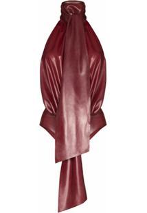 Saint Laurent Body Frente Única - Vermelho
