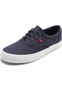 Tênis Jeans Reserva Recortes Azul