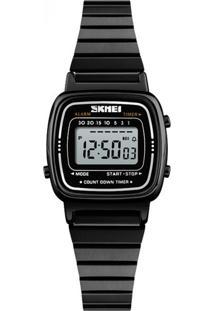 Relógio Skmei Digital 1252 Preto