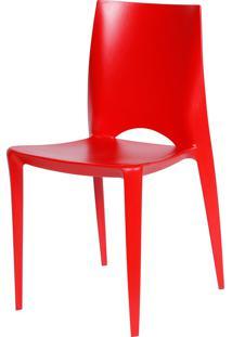 Cadeira Zoe Vermelho Or Design - Vermelho - Dafiti