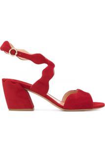 Chloé Sandália De Tiras - Vermelho