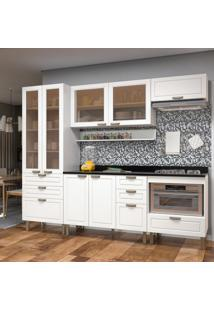 Cozinha Completa 7 Peã§As Americana Multimã³Veis 5684 Branco - Branco/Incolor - Dafiti