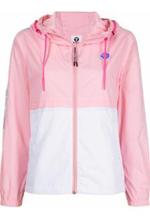 Aape By *A Bathing Ape® Hooded Lightweight Jacket - Rosa