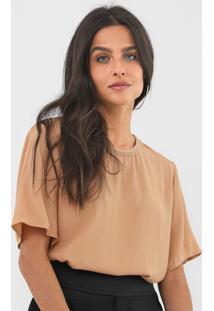 Camiseta Forum Textura Bege