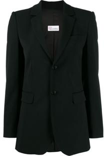 Red Valentino Blazer Smoking - Preto