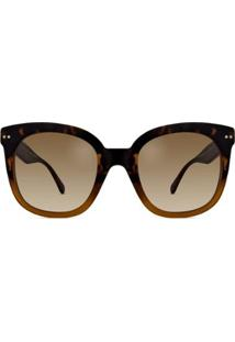 Óculos De Sol Kate Spade Feminino - Feminino-Marrom
