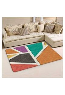 Tapete Sala Wevans Abstrato Triângulos Color Único