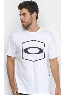 Camiseta Oakley Hexagonal Tee Estampada Masculina - Masculino