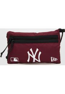 Bolsa New Era Mini New York Yankees Vinho