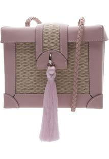 Bolsa Texturizada- Rosa Claro & Begearezzo & Co.