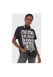 Camiseta Triton Be Bold Preta