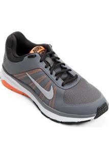 Tênis Nike Dart 12 Msl Feminino - Feminino-Cinza+Laranja