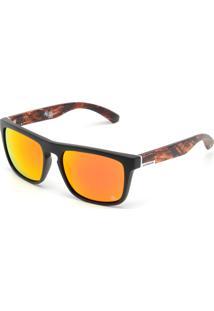 ... Óculos De Sol Quiksilver Eqyey00087 The Ferris Premium Preto Laranja 1bc7e84800