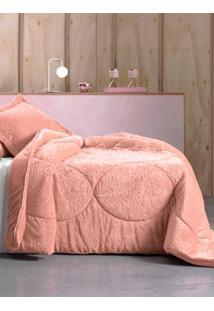 Edredom King Size Altenburg Blend Elegance Rosa Claro U