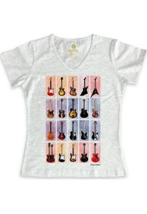 Camiseta Cool Tees Gola V Feminina - Feminino