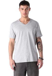 Camiseta Diesel T-Therapon - Masculino-Cinza