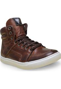 Bota Masc Cavalera Shoes 13.01.1632 Chocolate