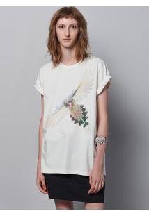 Camiseta Unissex Com Estampa Localizada Hering + À La Garçonne