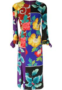Etro Floral Patchwork Dress - Estampado