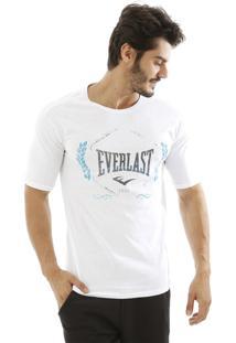 Camiseta Algodão Logo Everlast