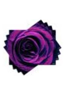 Jogo Americano - Rosa Com 4 Peças - 383Jo