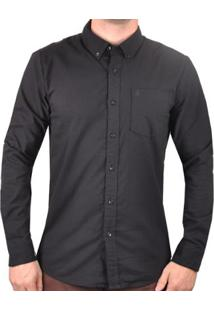 Camisa Volcom Oxford Stretch Masculina - Masculino