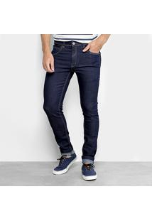Calça Jeans Skinny Zune Com Pesponto Masculina - Masculino