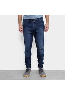 Calça Jeans Jogger Fatal Estonada Masculina - Masculino