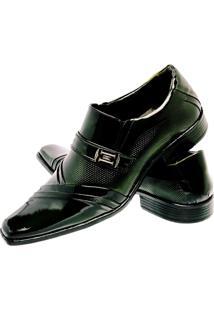 Sapato Social Gofer Envernizado Verde