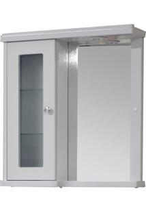 Armario Para Banheiro Branco 1 Porta