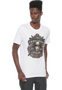 Camiseta Cavalera Chaves Regal Branca