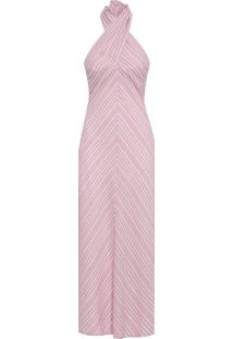 Vestido Lines Pink - Rosa