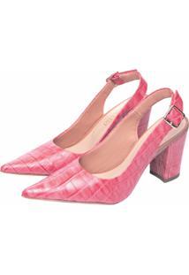 Sapato Scarpin Torricella Rosa