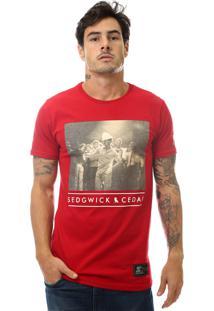 Camiseta Starter Break Dance Vermelho