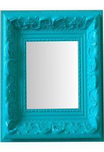 Espelho Moldura Rococó Raso 16244 Anis Art Shop