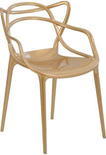 Cadeira Pp Allegra -Rivatti - Champagne