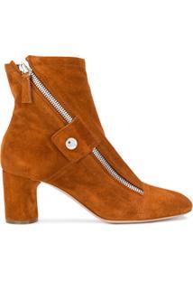 Casadei Ankle Boot 'Selena' - Marrom