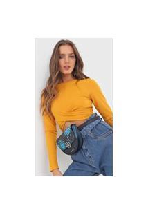 Pochete Transversal Belly Bag Luna Rock Verde
