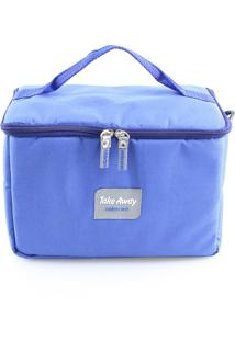 Bolsa Térmica Take Away M Com 4 Potes Nc159E - Notecare
