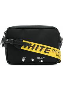 Off-White Logo Crossbody Bag - Preto
