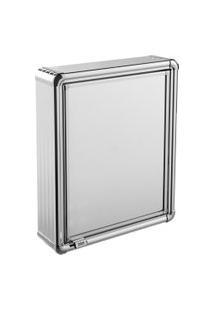 Espelheira Para Banheiro Astra Lbp12/S 1 Porta 35X45Cm Alumínio