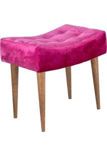 Puff Requinte Suede Lymdecor Pink