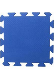 Tapete Tatame Eva Loja Da Maria 50X50X1Cm 10Mm Azul Royal