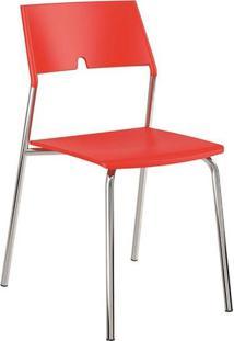 Cadeira Carraro Móveis Jadi – Vermelho