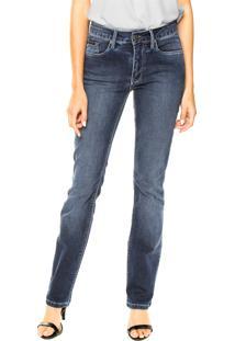... Calça Jeans Calvin Klein Jeans Reta Lisa Azul b9bec3f827c