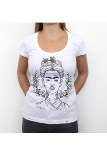 Frida - Camiseta Clássica Feminina