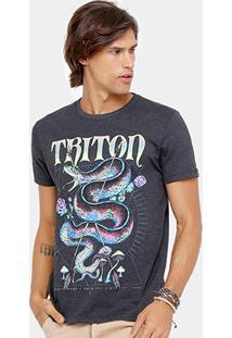 Camiseta Triton Stone Cobra Fluor Masculina - Masculino