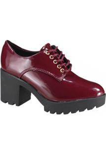 Sapato Feminino Oxford Vizzano